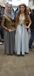 Olenna and Margaery Tyrell Cosplay at Denver Comic Con 2015