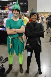 Peter Pan and Shadow Cosplay at Denver Comic Con 2015