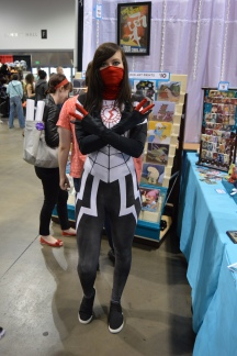 Silk Cosplay at Denver Comic Con 2015