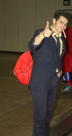 Spike Spiegle Cosplay at Denver Comic Con 2015