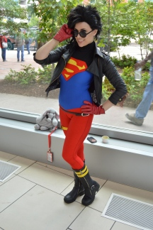 Superboy Cosplay at Denver Comic Con 2015