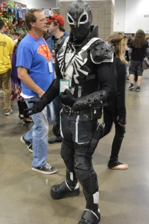 Symbiote Spider-Man Cosplay at Denver Comic Con 2015