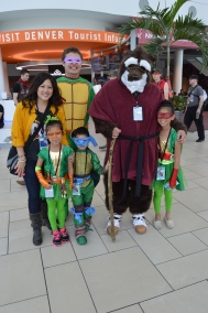 Teenage Mutant Ninja Turtles Cosplay at Denver Comic Con 2015
