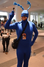 The Tick Cosplay at Denver Comic Con 2015