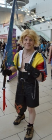 Tidus from Final Fantasy X Cosplay at Denver Comic Con 2015