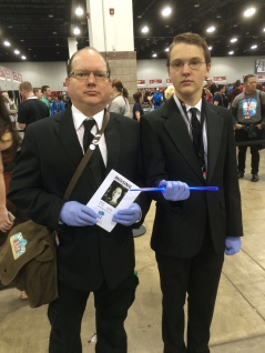 Two by Two, Hands of Blue Cosplay at Denver Comic Con 2015