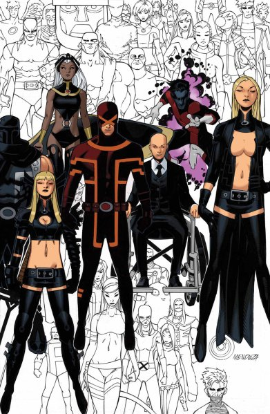 Uncanny X-Men #600 cover by Chris Bachalo