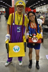 Wario and Mario Cosplay at Denver Comic Con 2015