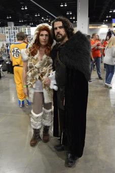 Ygritt and Jon Snow