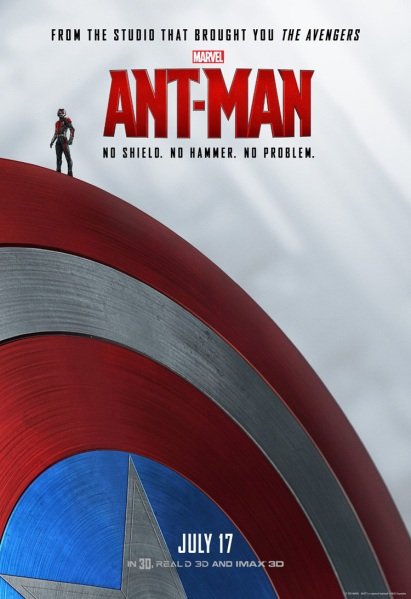 Ant-Man Poster Captain America Shield