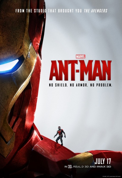 Ant-Man Poster Iron Man Suit