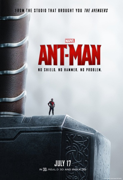 Ant-Man Poster Thor Hammer