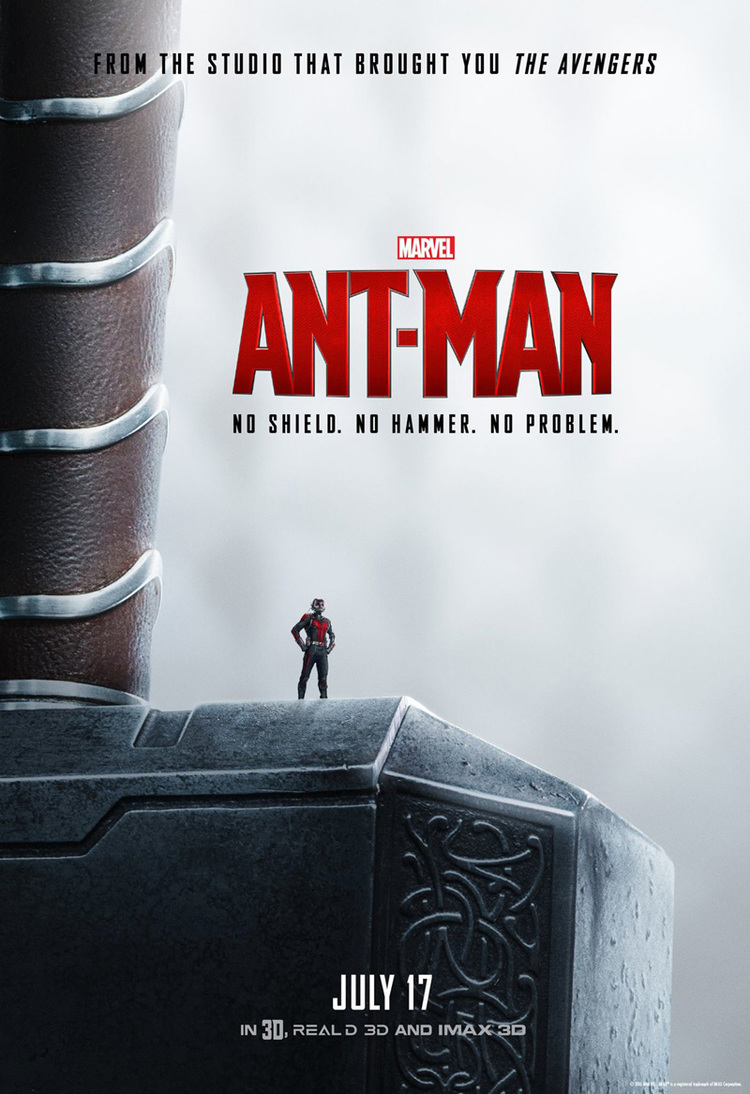 Image result for ant man horizontal  poster