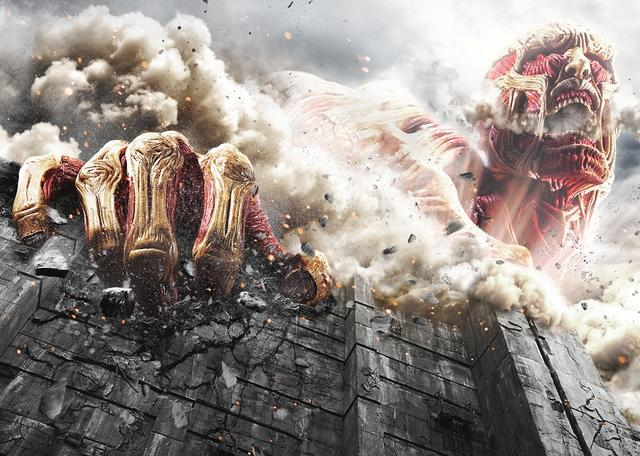 Set Photos from 'Attack on Titan' Live-Action Movie