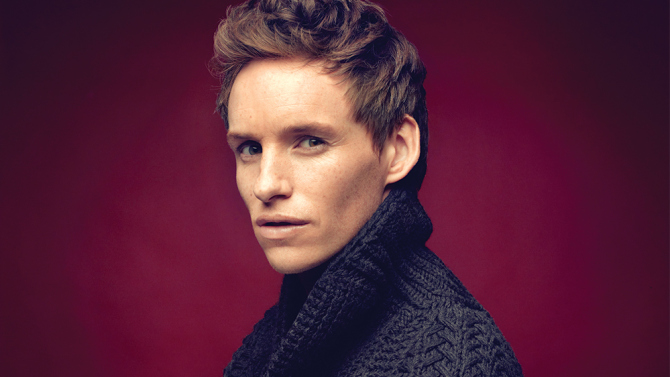 Eddie Redmayne is Officially Newt Scamander