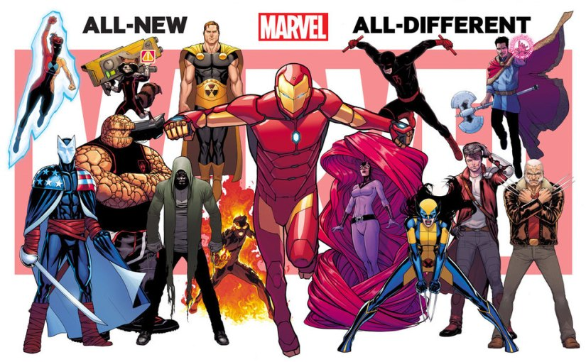 Meet Marvel's All-New, All-DifferentRoster