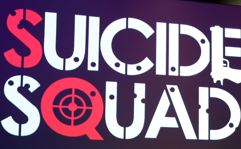 The 'Suicide Squad' Movie Has a Logo