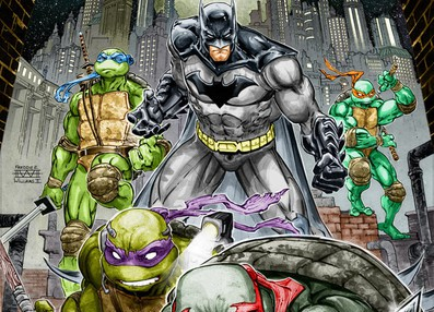 SDCC 2015 – Batman/TMNT Crossover Coming November 2015