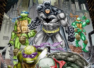 SDCC 2015 – Batman/TMNT Crossover Coming November2015