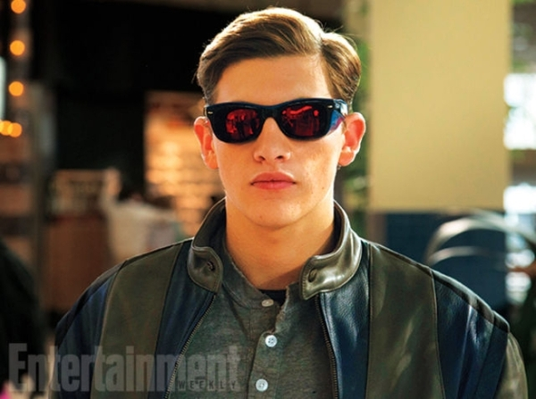 Still of Cyclops (Tye Sheridan) in X-Men Apocalypse. Photo courtesy of EW and property of Fox Studios