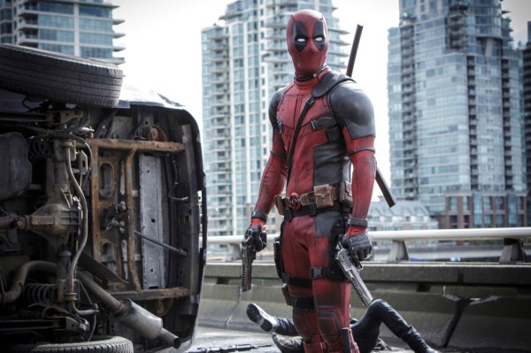 Deadpool (Ryan Reynolds) Photo Credit: Joe Lederer TM & © 2015 Marvel & Subs.  TM and © 2015 Twentieth Century Fox Film Corporation.  All rights reserved.  Not for sale or duplication.