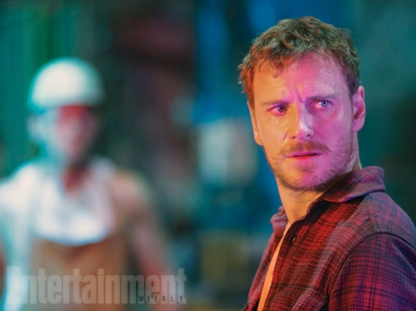 Still of Magneto (Michael Fassbender) in X-Men: Apocalypse. Photo courtesy of EW and property of Fox Studios