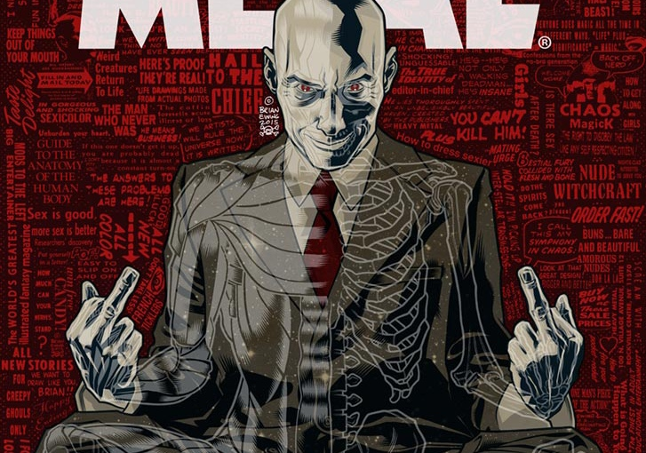 Grant Morrison to take Editor-In-Chief Chair at 'Heavy Metal' Magazine
