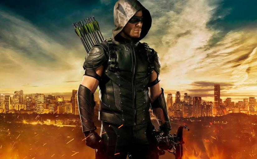 SDCC 2015 – Arrow and Diggle Get New Suits, Anarky and Mister Terrific