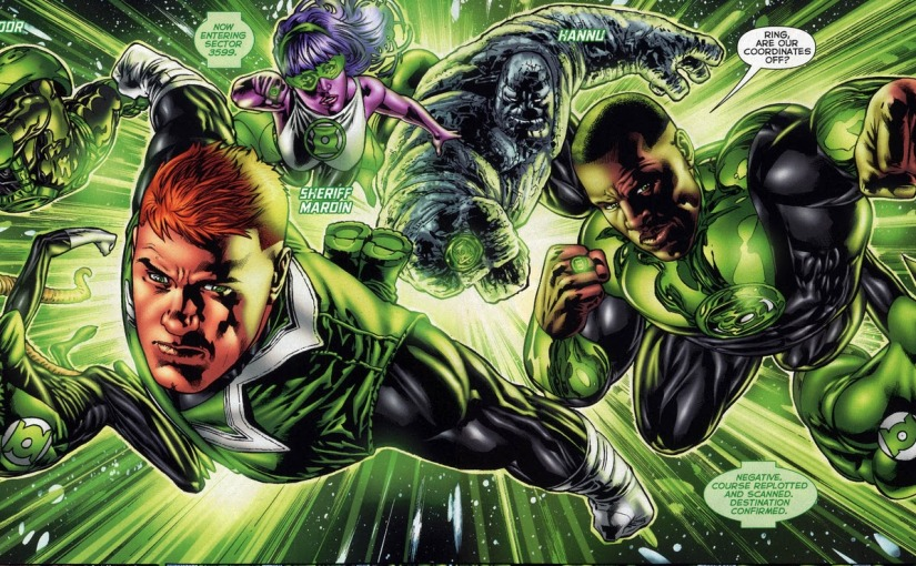 SDCC 2015 – 'Green Lantern' Movie Will Actually Be 'Green LanternCorps'
