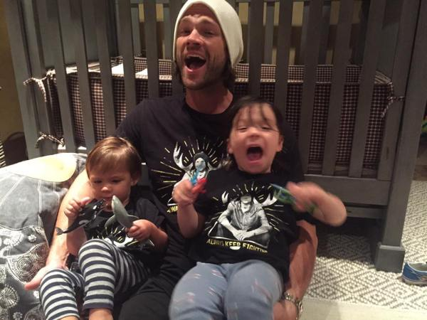 Jared and kids