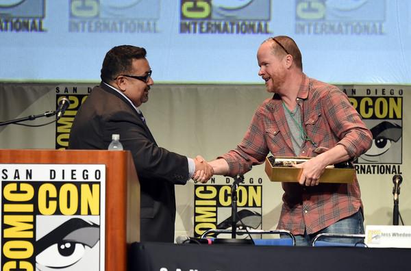 SDCC 2015 – Joss Whedon Receives Prestigious IconAward