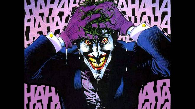 Image of The Joker from The Killing Joke, image courtesy and property of DC Comics.