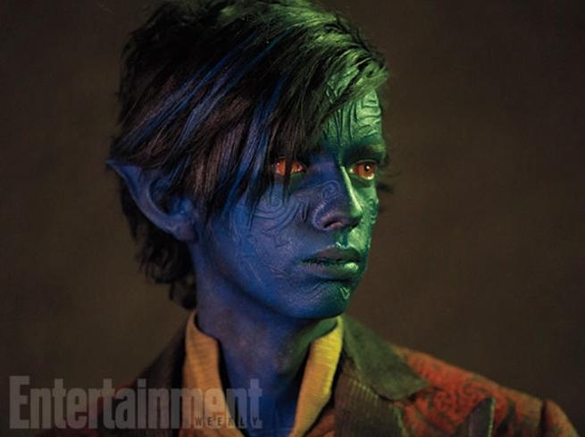 ... Still of Nightcrawler (Kodi Smit-McPhee) in X-Men Apocalypse. Photo