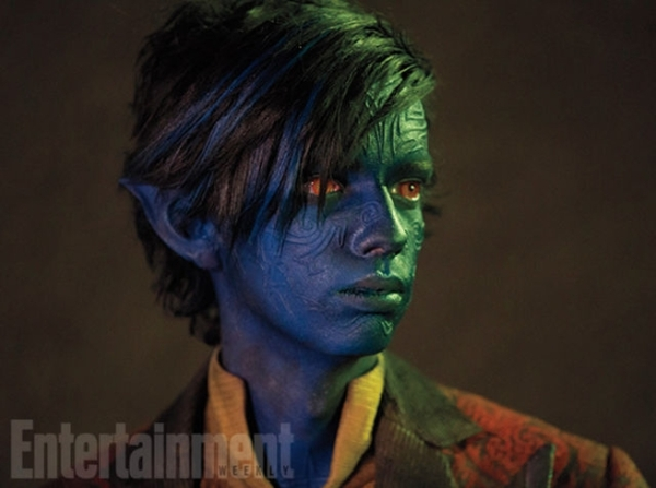 Still of Nightcrawler (Kodi Smit-McPhee) in X-Men Apocalypse. Photo courtesy of EW and property of Fox Studios