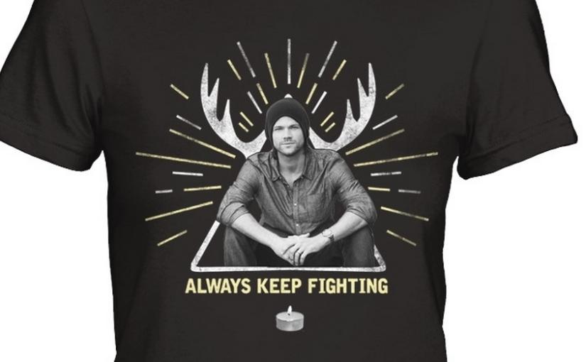 "Jared Padalecki Rolls Out ""Always Keep Fighting"" RoundThree"