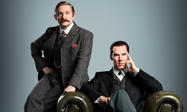BBC Sherlock Teaser Poster Goes Back In Time