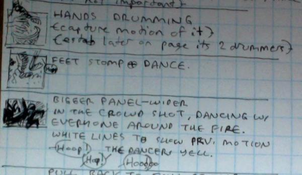 Wes Craig Blackhand script