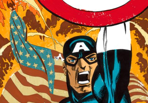Captain America White #1 Cover
