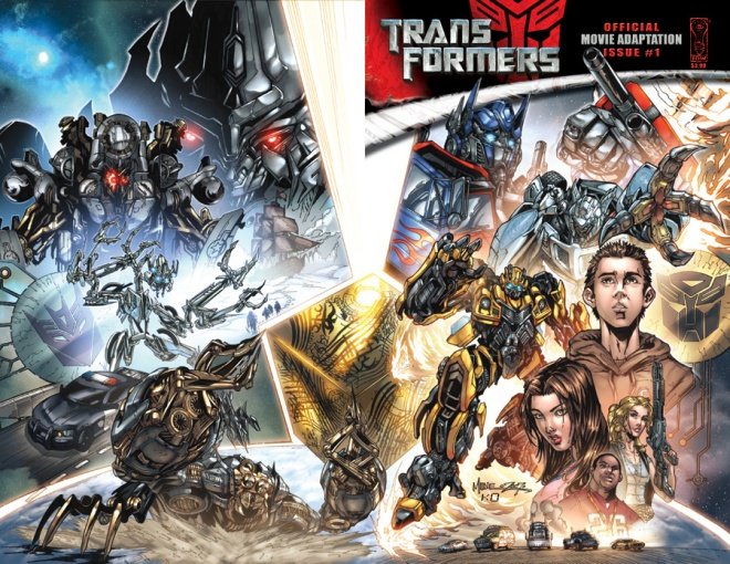 transformers the movie the comic book