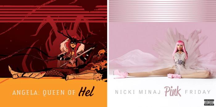 Angela Queen of Hel #1 - Pink Friday