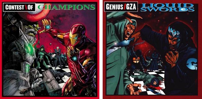 Contest of Champions #1 - Liquid Swords