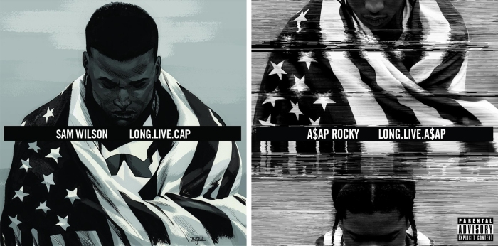 Sam Wilson Captain America #1 - Long.Live.A$AP