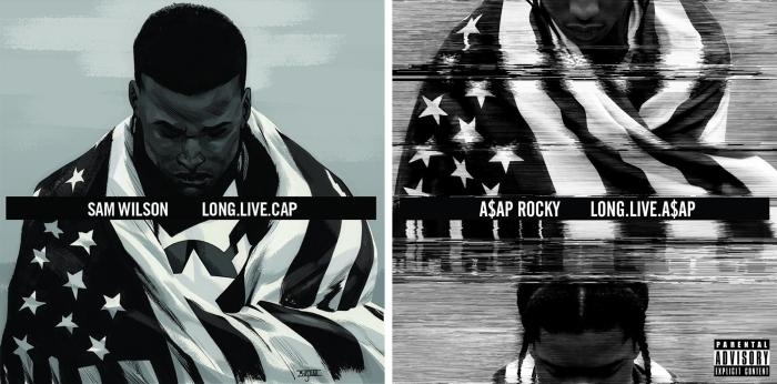Sam Wilson Captain America #1 - Long.Live.A$AP