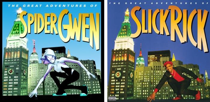Spider-Gwen #1 - The Great Adventures of Slick Rick