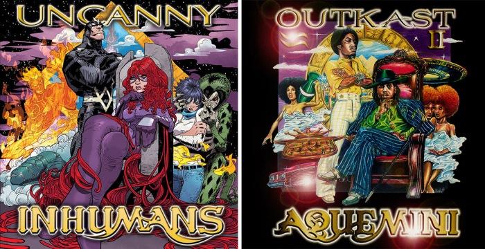 Uncanny Inhumans #1 - Aquemini
