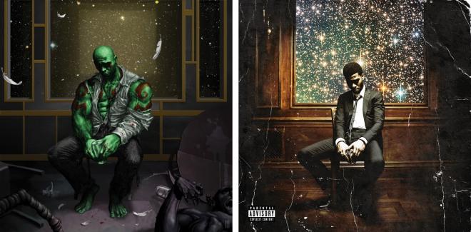 Drax #1 - Man on the Moon II