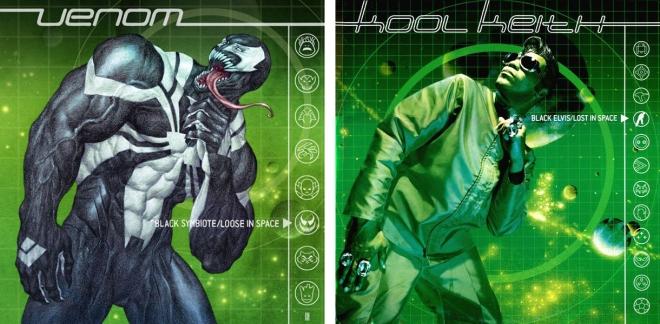 Venom-Space Knight - Lost in Space Black Elvis