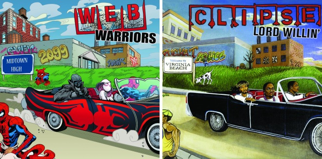 Web Warriors #1 - Lord Willin